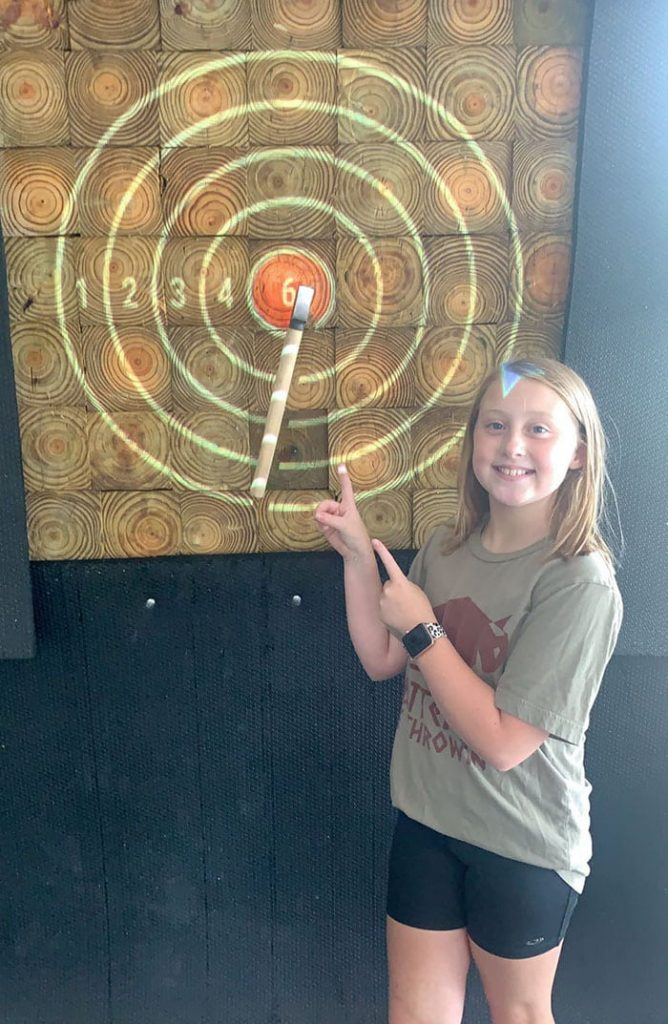 axe throwing is safe at matted ox